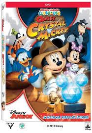 descargar La Casa de Mickey Mouse: For The Crystal Mickey – DVDRIP LATINO