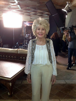 Georgia Holt, Cher's mother, on set for her May 2013 television special
