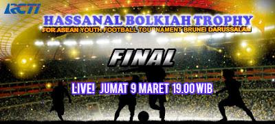 Jadwal Indonesia VS Brunei Darussalam