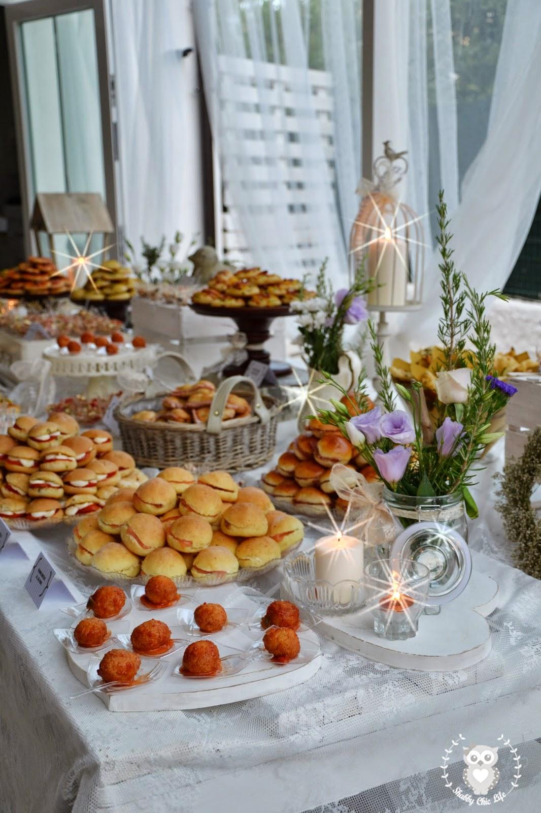 Inaugurazione B&B Lesedea buffet by Dolcissimamenthe