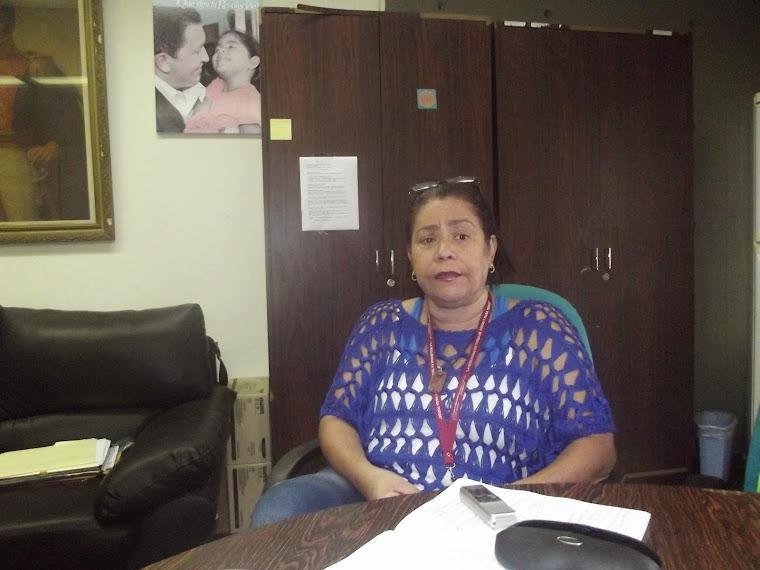 ENTREVISTA A LA PROFESORA MARUBI ARCAS DIRECTORA NACIONAL DE ESCUELAS BOLIVARIANAS