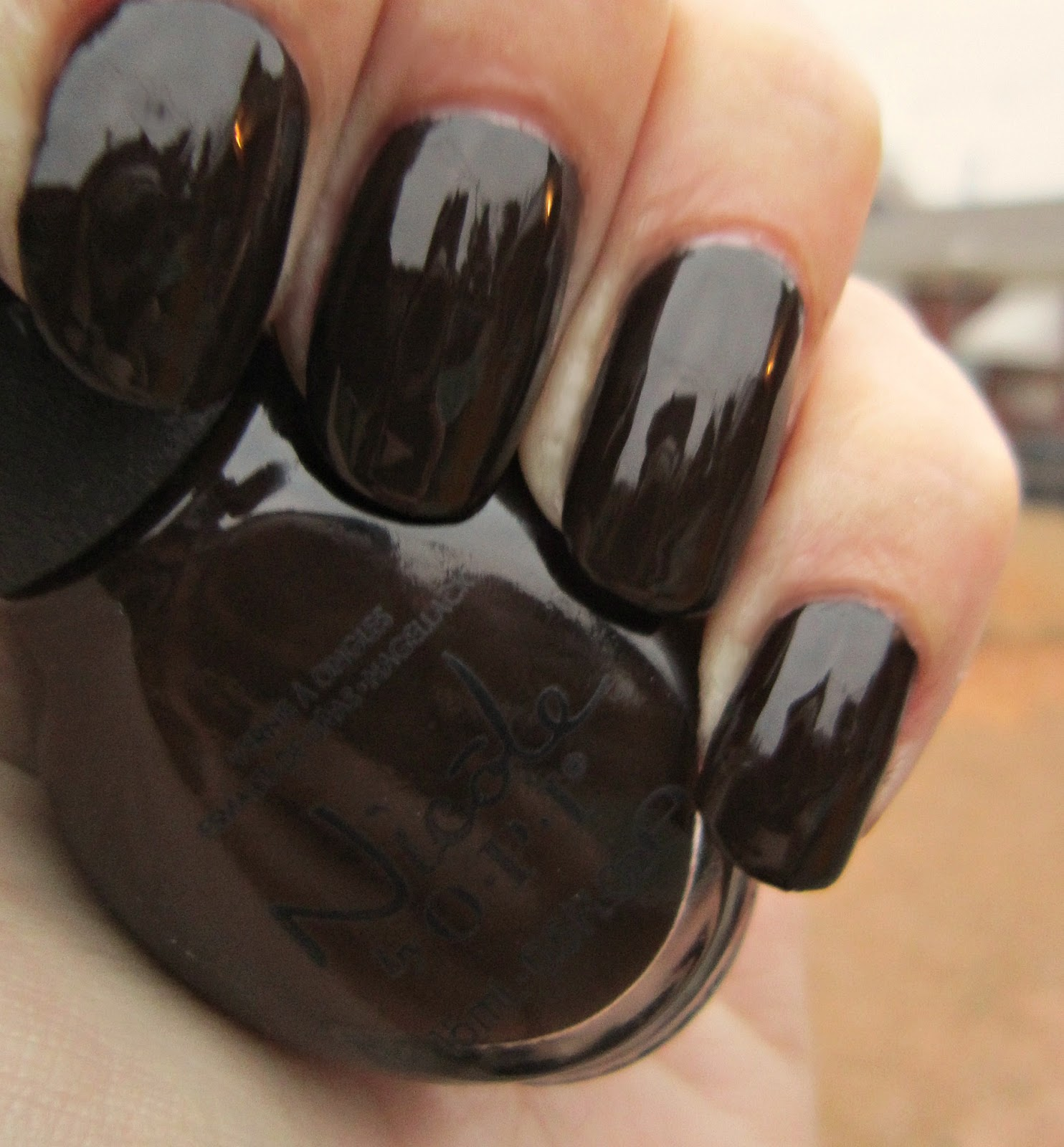 Concrete and Nail Polish: Nicole By OPI Promises In The Dark