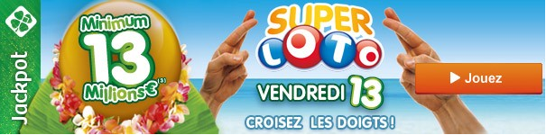 super loto, cagnotte, vendredi 13, happy journal
