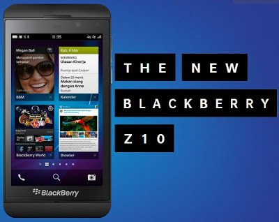 BlackBerry Z10 Terbaru 2013