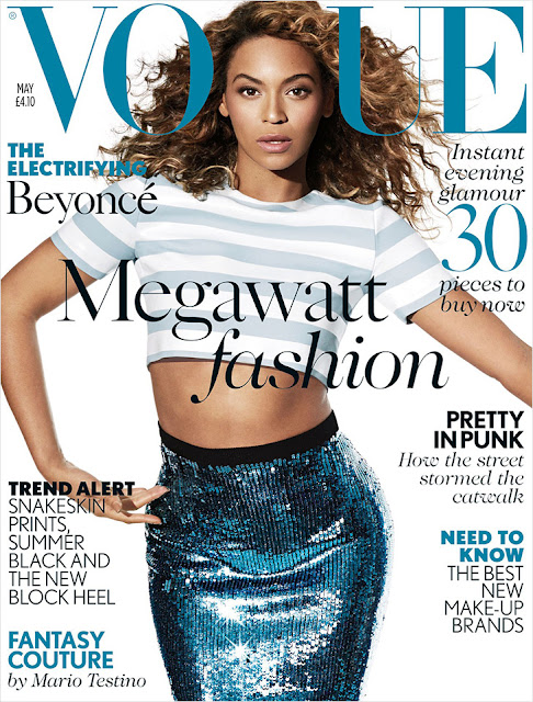 Beyonce British Vogue Cover May 2013