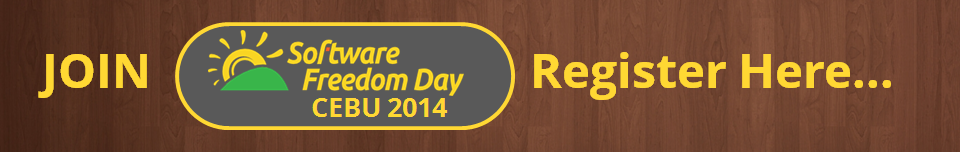 Join Software Freedom Day Cebu 2014