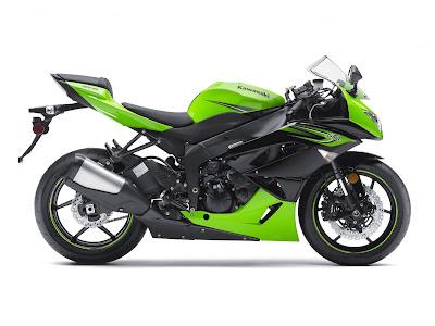 2011 Kawasaki Ninja ZX-6R Motorcycle
