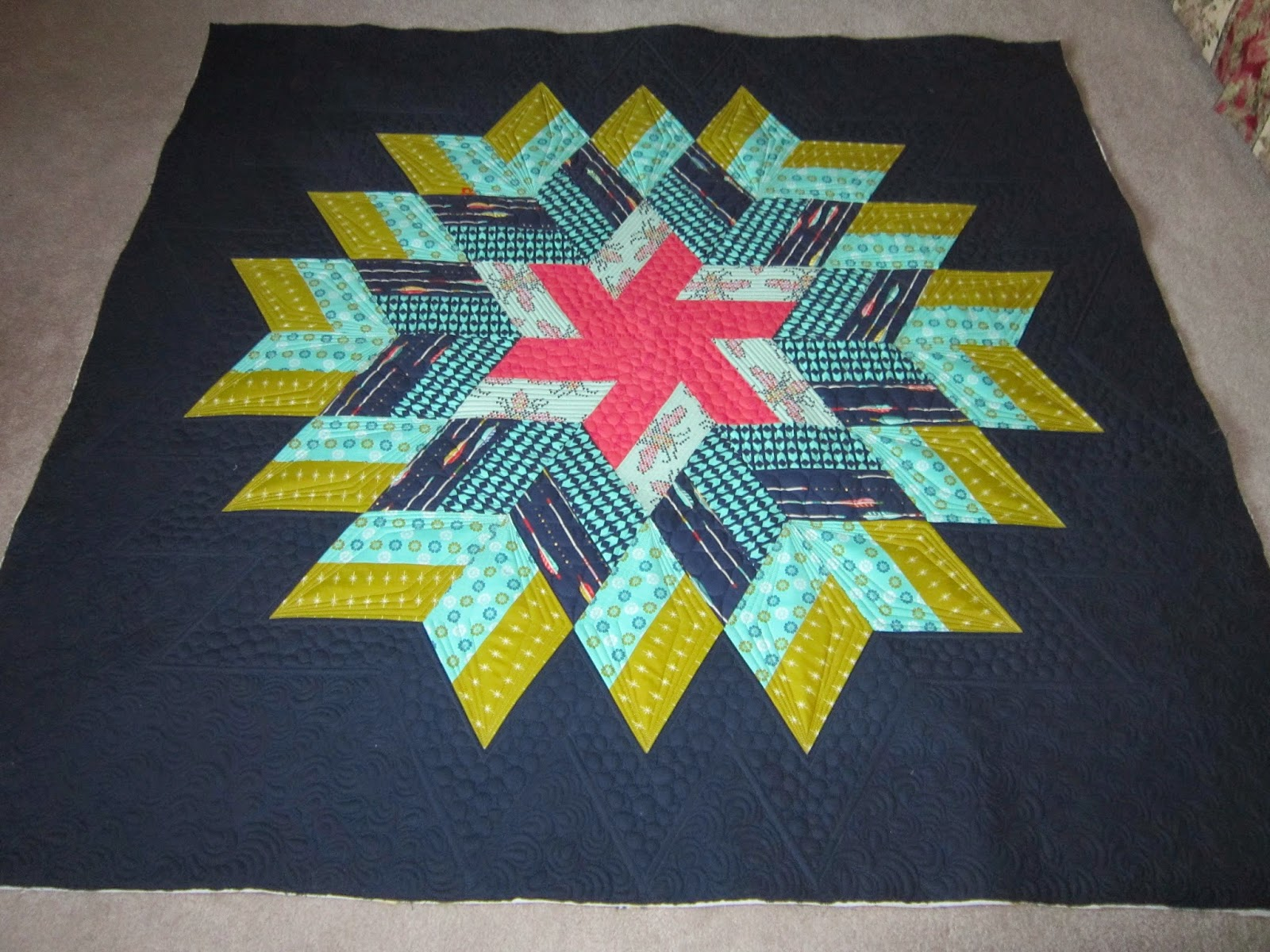 Quilting Is My Bliss Glimmer Quilt One Of My Own