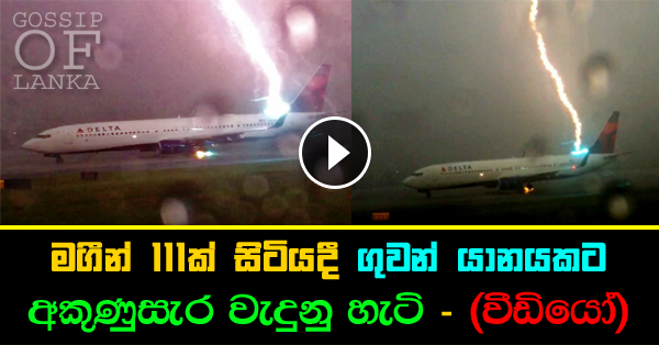 Lightning Strikes Jetliner at Atlanta Airport (Watch video)