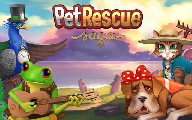 Pet Rescue Saga 1.6.5.0 Apk (Mod)