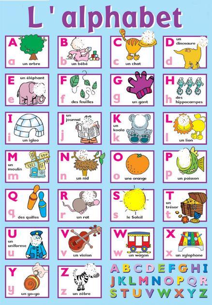 Lee el alfabeto ruso y