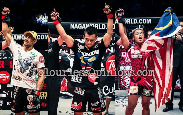 Peter Davis Ev Ting Ann Osman win for Malaysia in ONE FC 21 Roar of Tigers