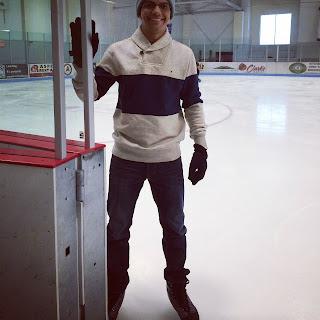 pista de patinação no gelo em aspen, colorado