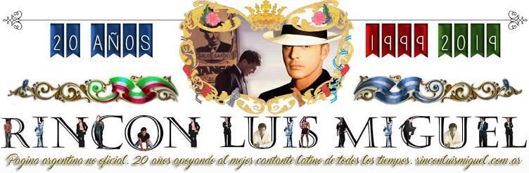 RINCON LUIS MIGUEL - Archivo redes sociales oficiales de Luis Miguel
