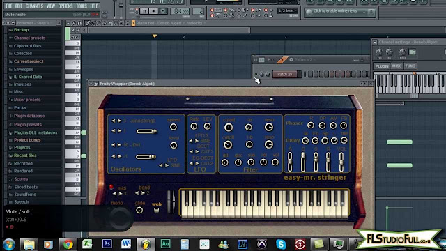 Produzindo um Beat no FL Studio 10 - Making a Beat