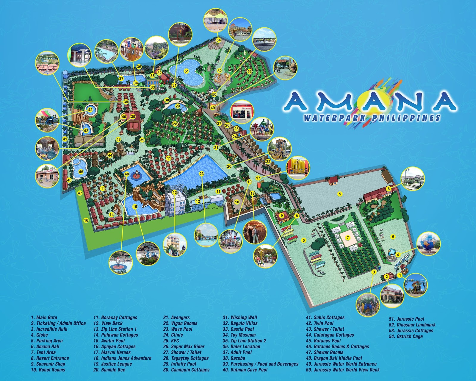 Like pictures on instagram Amana WaterPark Entrance Fee, Cottage, Promo, Contact Details