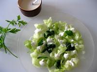 Salade de concombre au yaourt 2