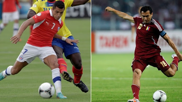 Chile contra Venezuela