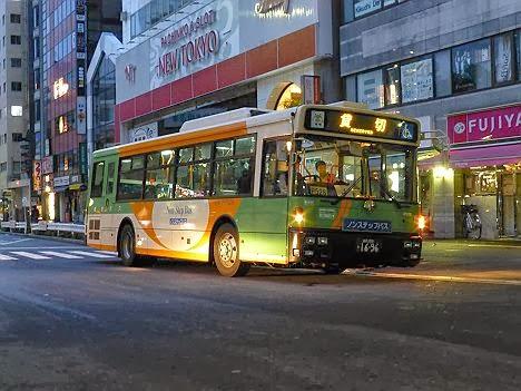 日暮里~三河島 代行バス