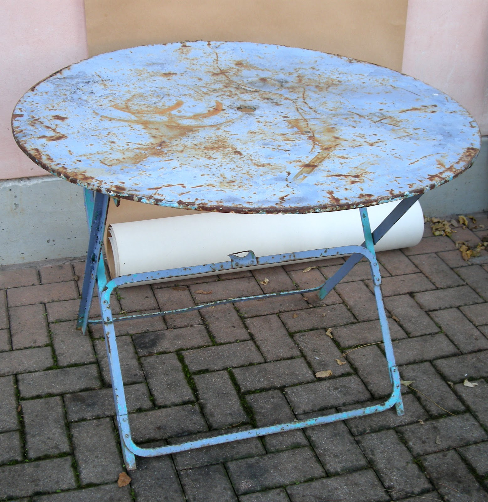 Rimodern tavolo da giardino pieghevole francese french folding garden table - Tavolo giardino pieghevole ...