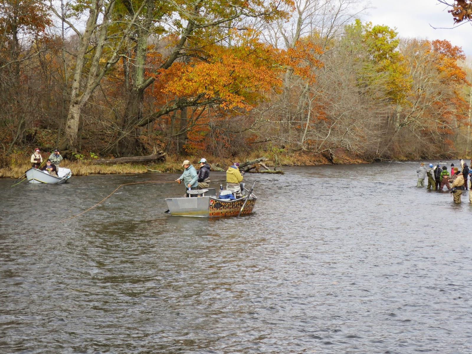 Fishing hunting in oswego county ny early november for Oswego river fishing