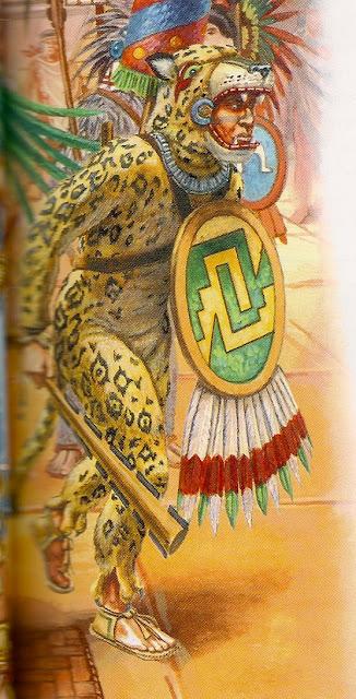 Miniaturas militares por alfons c novas mexico vestuario for Aztec mural tattoos