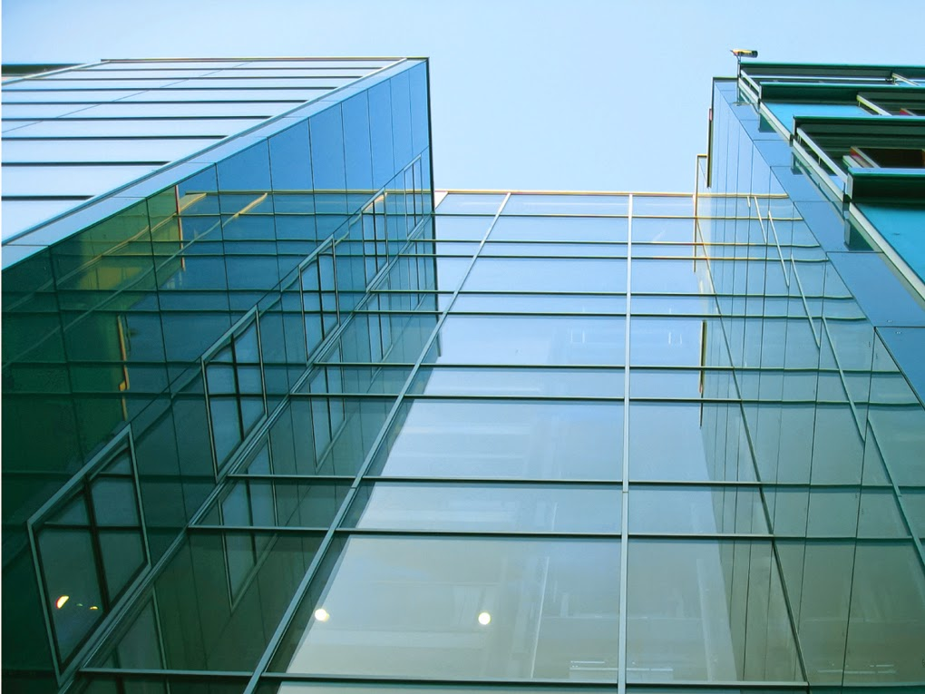 Structural Glass Design : Khan acp cladding and structural glazing