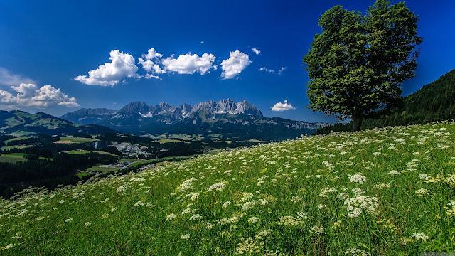 Tirol Mountain HD Wallpaper