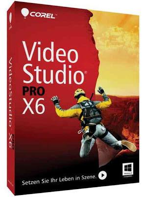 تحميل Corel VideoStudio Pro X6 برنامج كوريل فيديو استديو