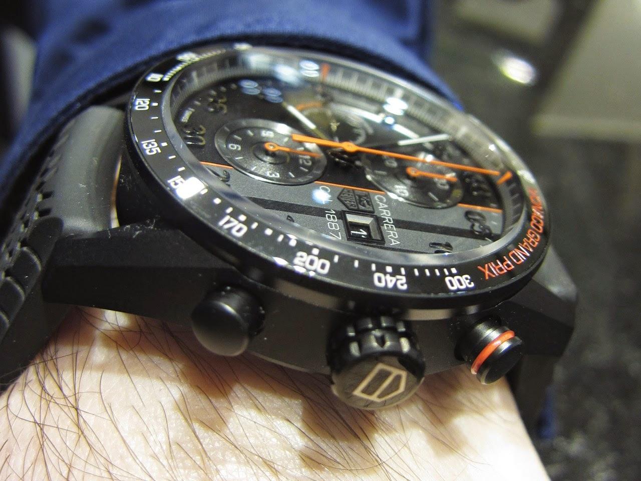 Sportswatchblogger - Sportuhren Blog : TAG Heuer Carrera Monaco ...