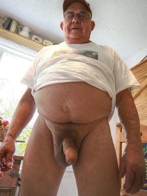 old bear gay - big bear uncut cock - gay older men pics - old man naked gay