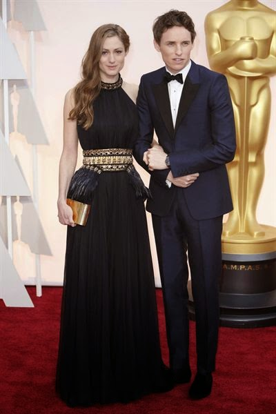 Eddie Redmayne Oscars 2015