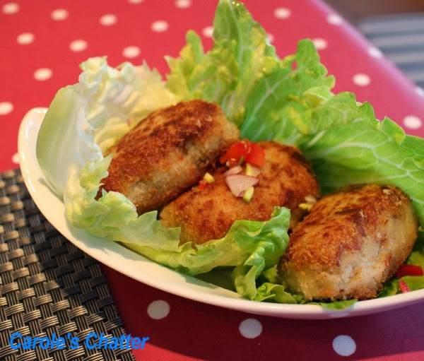 Eggplant Croquettes: Carole's Chatter