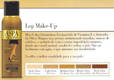 maquiagem pernas aspa leg make-up