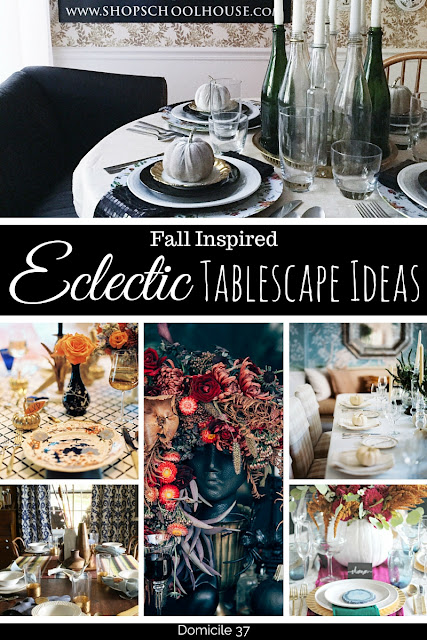 The nontraditional way of adding more to your fall tablescape