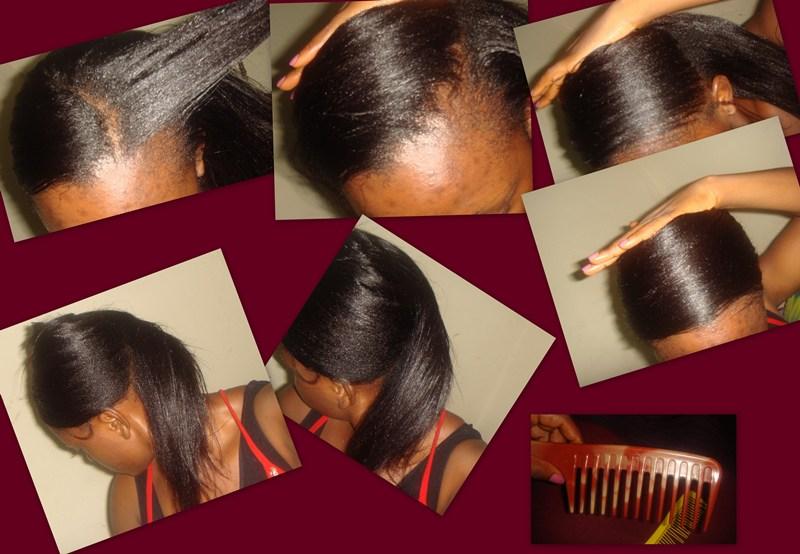 Comment faire wrap cheveux long