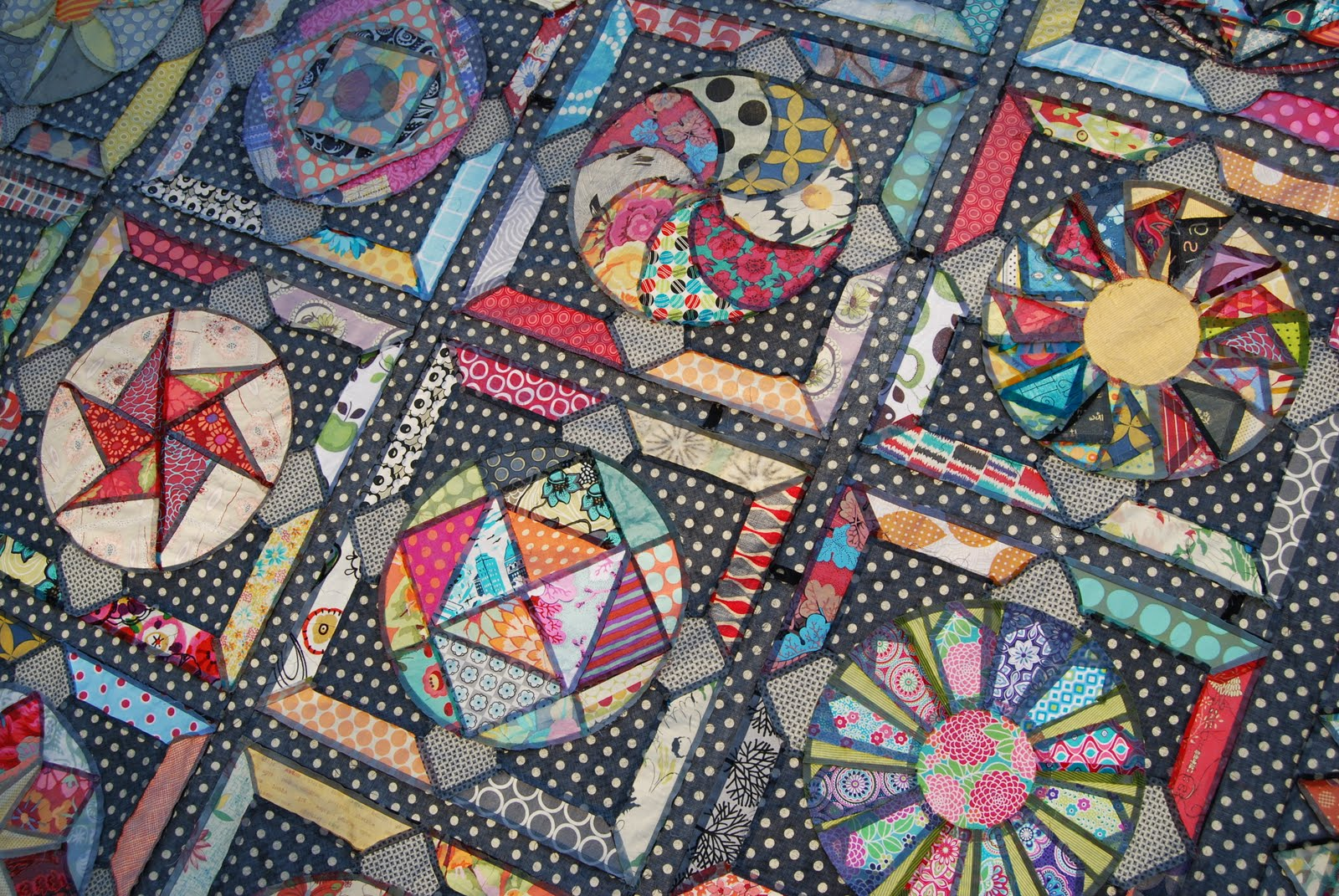 Lily S Quilts Amitie Bom The Circle Game Quilt Top Finished