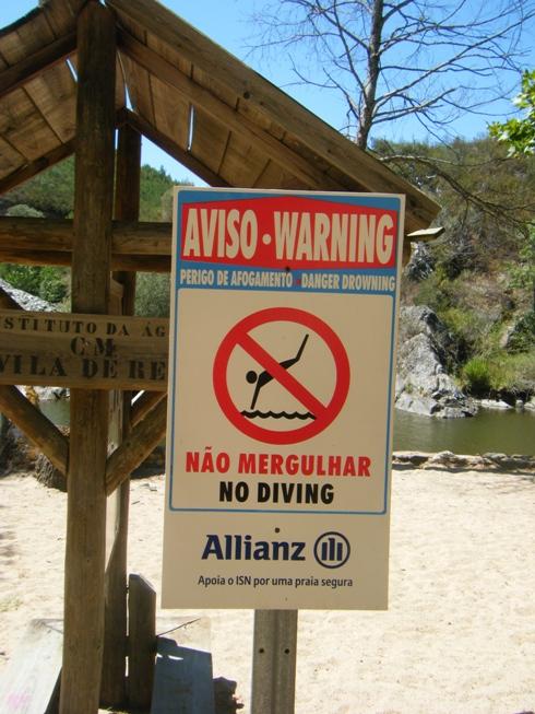Não Mergulhar