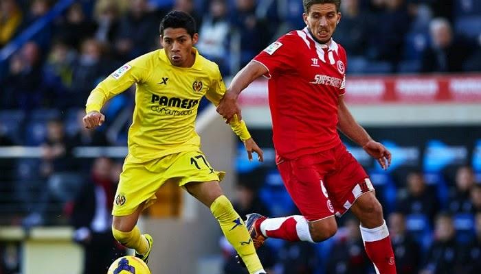 Villarreal vs Sevilla en vivo