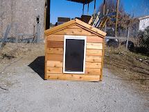 Large Heated Dog House