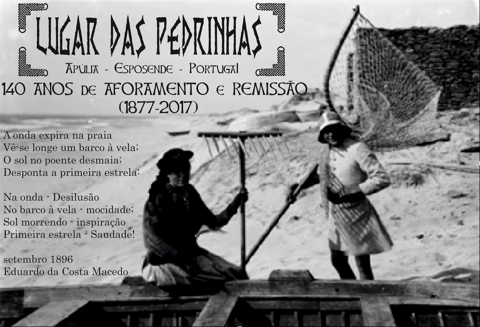 LUGAR DE PEDRINHAS -  140 AFORAMENTO