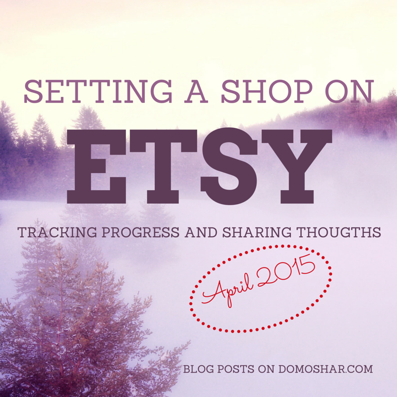 etsy shop setting blog posts - month 2