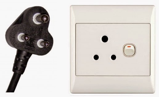 ElectroiD3: Electrical: Power Plug & Outlet Type D