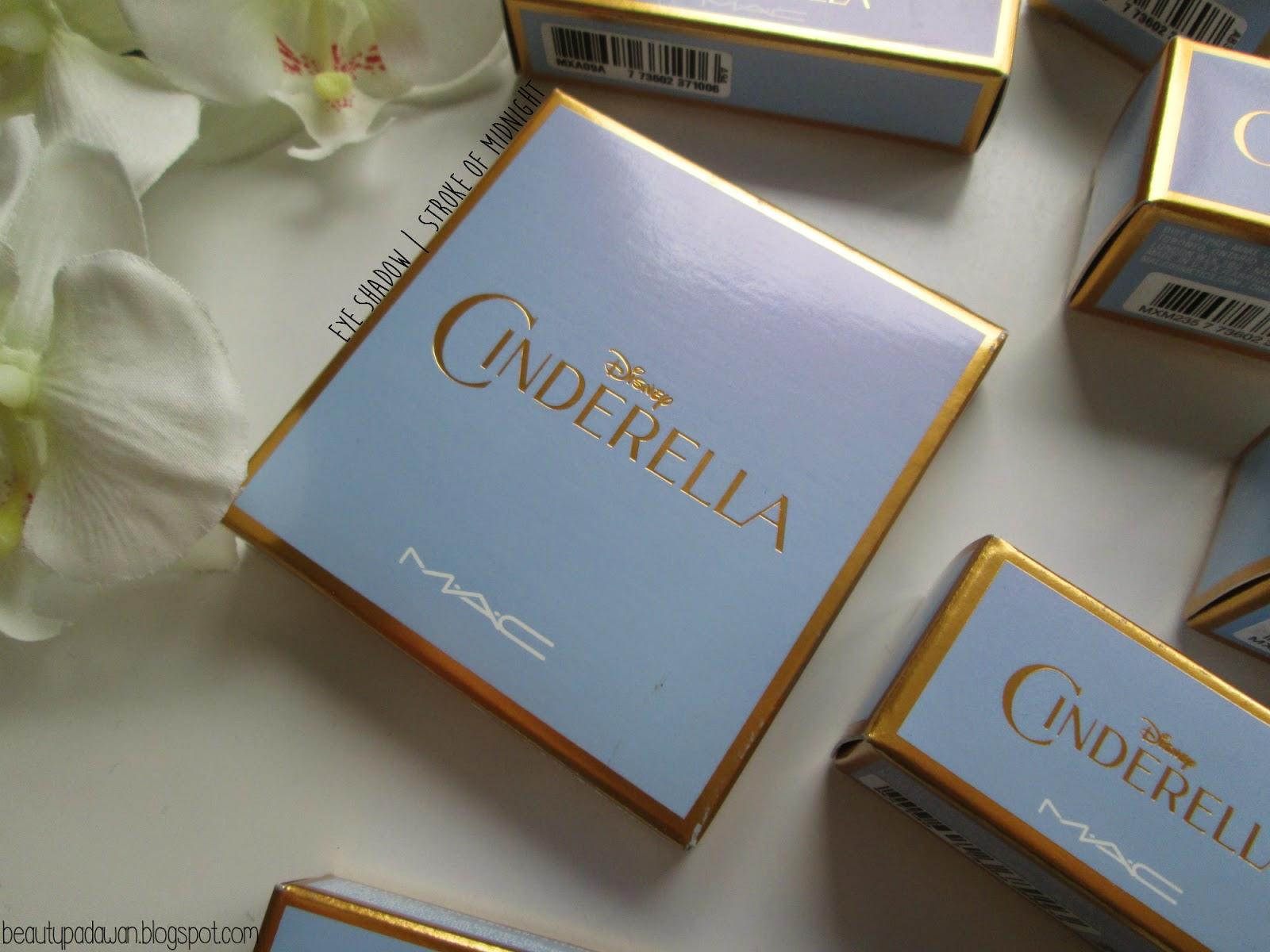 "MAC Cinderella - ""Stroke of Midnight"" eye shadow palette"
