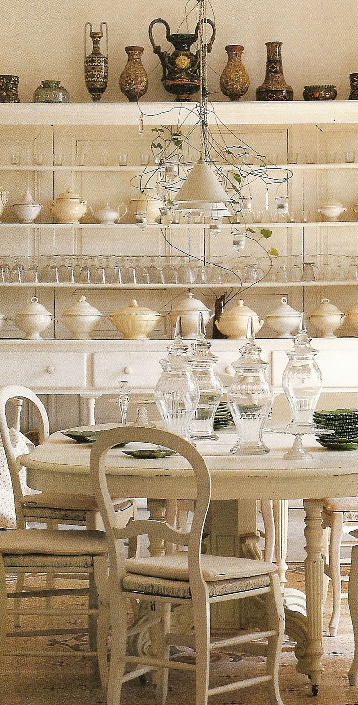 Eye for design decorate with collections of creamy white for French country collection
