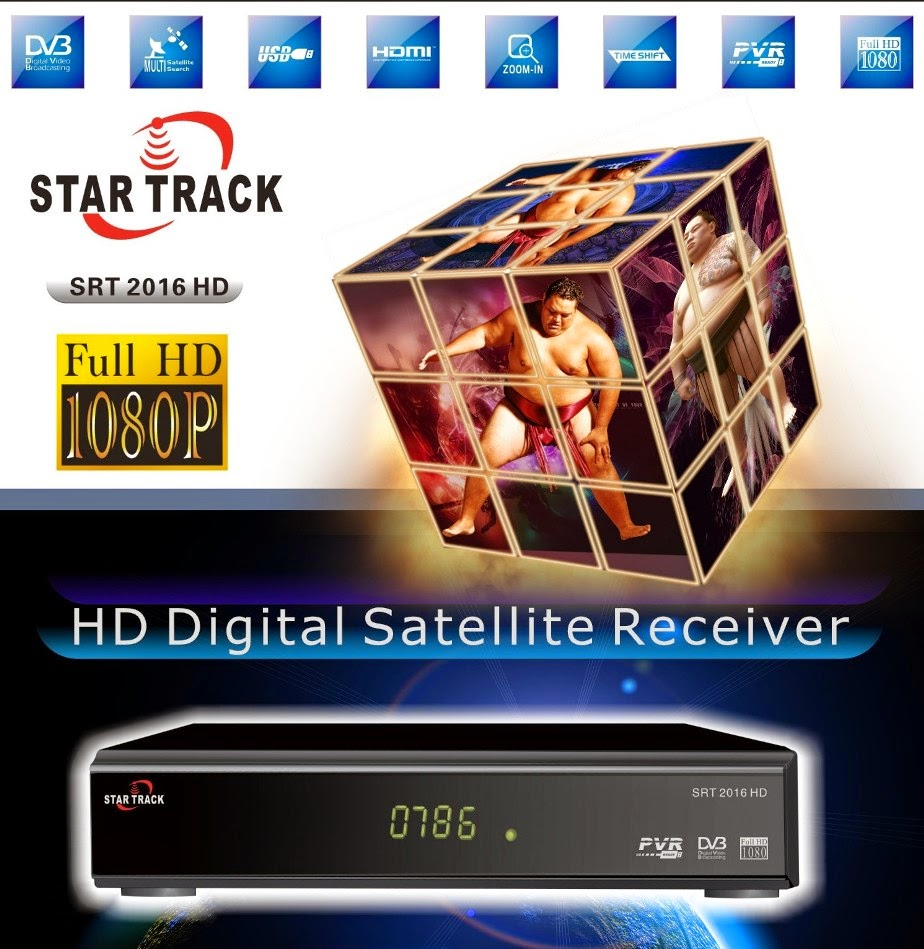 Star Track SRT 2016 HD Satellite Receiver