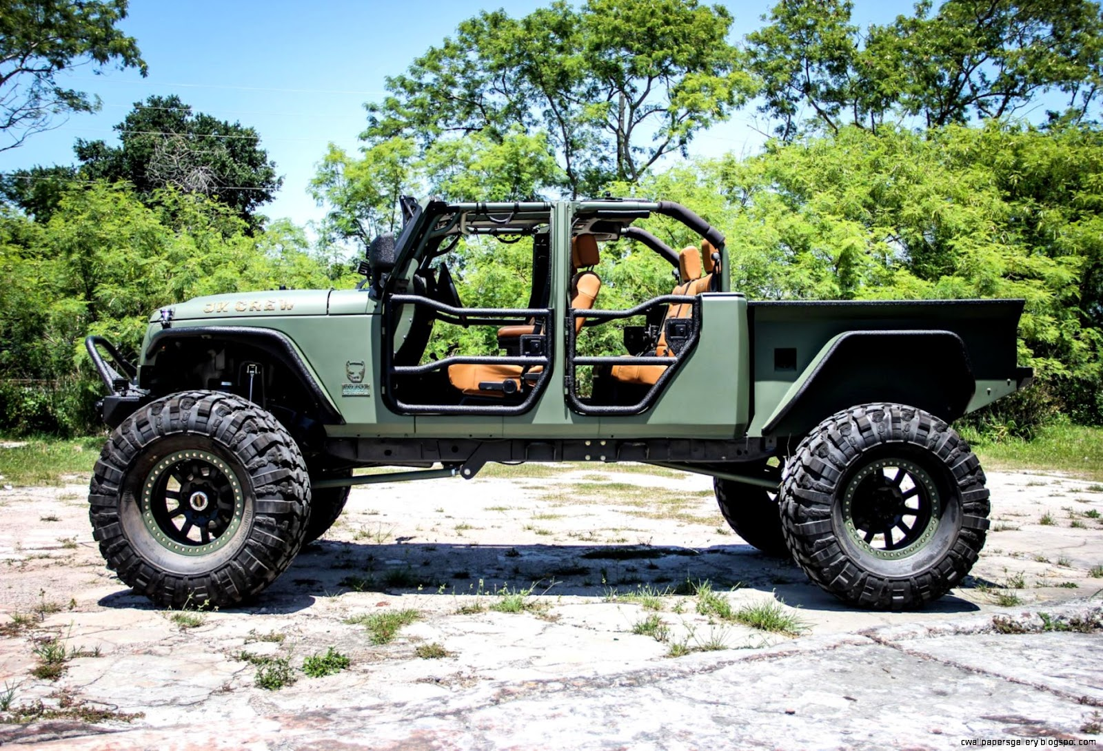 Jeep Wrangler Truck Conversion   Bruiser Conversions