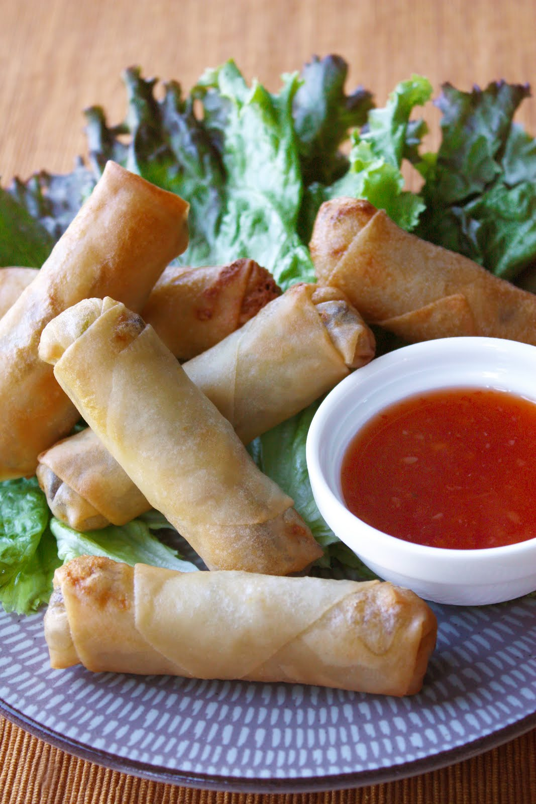 Thai spring rolls recipe chicken
