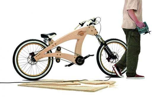 Designcreme Sawyer Plywood Bicycle By Jurgen Kuipers