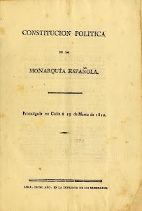 Constitución Política de la Monarquía Española 1812